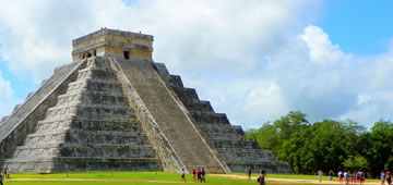 Chichen Itza Airplane Tour