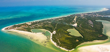 Holbox Island Airplane Tour