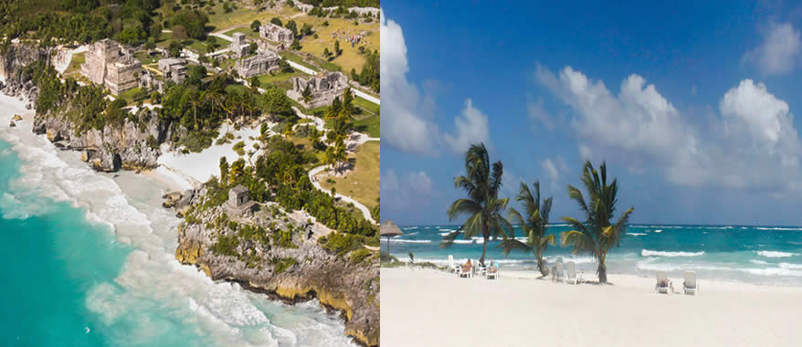 Helicopter Tour Riviera Maya & Tulum- Panoramic Tour | Cancun Airplane Tours