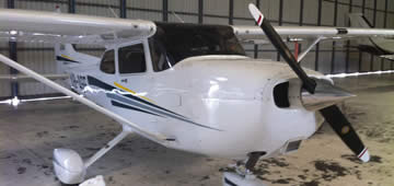 Cessna C 172 capacity for 3 pax