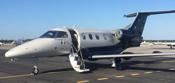 Executive Jet Phenom 100 E by Embraer, Jets in Rental Cancun