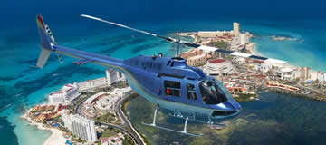 Cancun Helicopter Panoramic View Tour